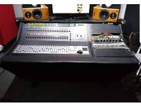 Digidesign Control 24 Mixing Desk and furniture