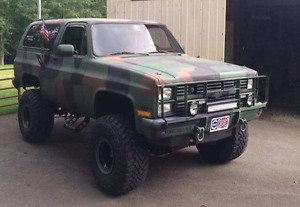 Looking for chevy military cucv trucks and blazer