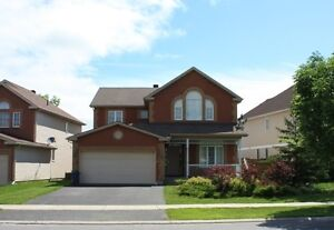 4-bedroom (2800 sq ft.) single house in Kanata for rent