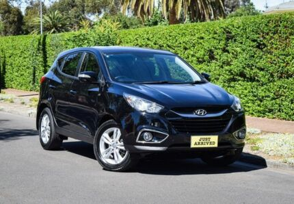2013 Hyundai ix35 LM2 SE Black 6 Speed Sports Automatic Wagon Medindie Walkerville Area Preview