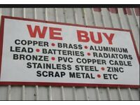 SCRAP METAL BUYERS AND COLLECTORS ALL AREAS COVERED