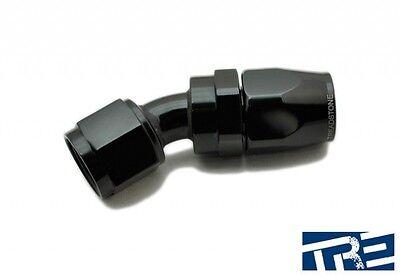 Treadstone Performance 6AN Swivel-Seal Hose End Fitting 30 Degree Black HF6-30