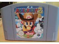 Mario party 2 for Nintendo 64