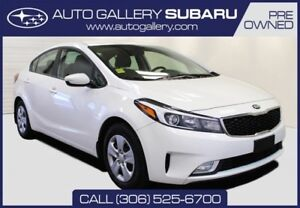2017 Kia Forte LX PLUS | FULLY EQUIPPED | FACTORY WARRANTY | LIK