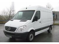 Man and van hire for house move, removal service for full & single item , short notice availibil