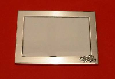 - Border Collie Dog Motif 4 x 6 Picture Frame Farmer Agility Working Dog Gift NEW