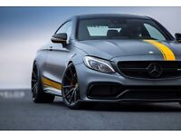 Mercedes C63 Edition 1 Motorsport Available For Proms & Chauffeur Hire/Rentals