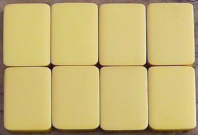 Eight Vintage Chinese Bakelite Mahjong Mah Jongg Tiles For Jokers Or Replacement
