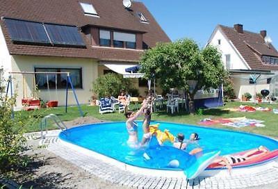 Ovalformbecken 4,5x2,5x1,2m Ovalschwimmbecken Pool Schwimmbecken Swimmingpool