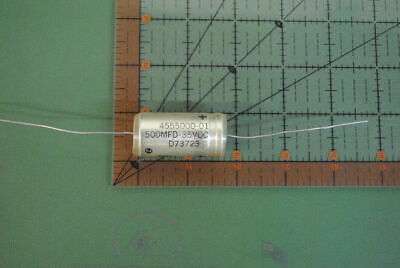 Sprague Axial Polypropylen Audio-Kondensator .22uf 400v 5/% 730P224X5400 0.22uF X