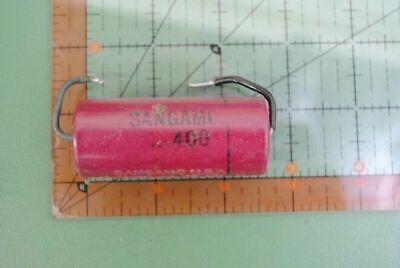 Sangamo Capacitor 1uf 400v Dc Type 30 1mfd 400vdc Vintage Audio Tone Amp