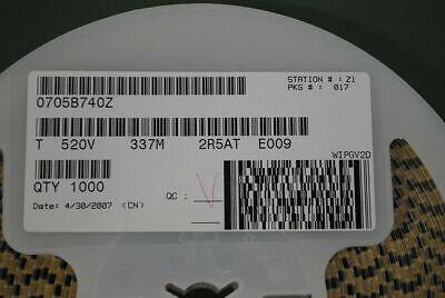 5 X Smd Tantalum Capacitor 330uf 2.5v Replace Nectokin 0e907 Oe907 0e128 Oe12