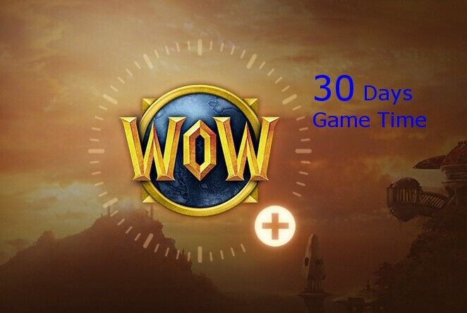 World of Warcraft 30 Days Game Time (20% off retail!) - WoW BfA & WoW Classic
