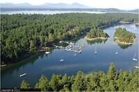 4.1 acre private forested lot on DeCourcy Island (near Nanaimo)