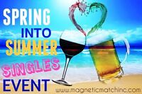Spring Into Summer Singles Mixer & Comedy Event (Ages: 40-55)