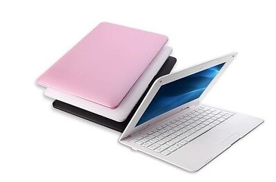 """10"""" NETBOOK MINI LAPTOP WIFI ANDROID 6 Cortex A7 A33 1.5 GHz NOTEBOOK Xmas Gift"""