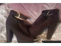 Woman's heel shoes