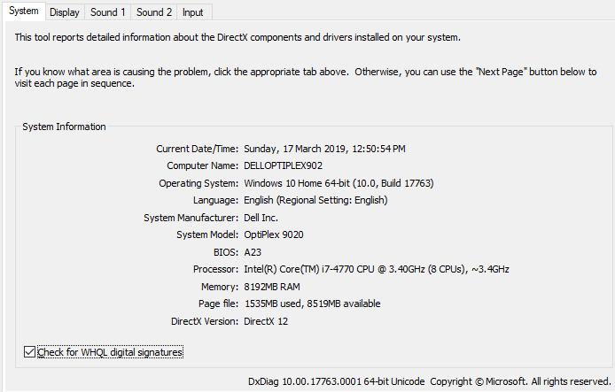 Dell Optiplex 9020 SFF- i7@3 4GHz-8GB RAM-128GB SSD-300GB HD