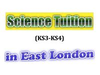 Science Tuition (KS3-KS4) in East London