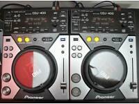 2 X Pioneer CDJ 400