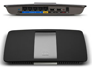 Linksys Smart Wifi Router EA6500 Dual Band AC1750 Gigabit Wireless 2x USB DLNA