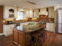 KITCHEN CABINET REFINISHING AT 1/4 COST OF BUYING NEW