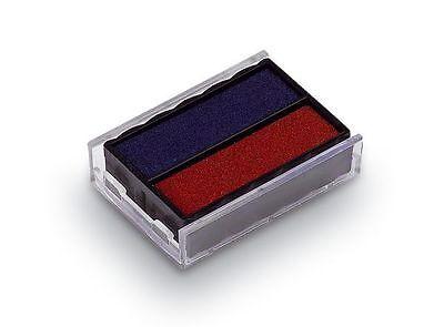 Ersatzstempelkissen 6/4850 blau/rot für Trodat Printy Dater 4850 / L, NEU&OVP