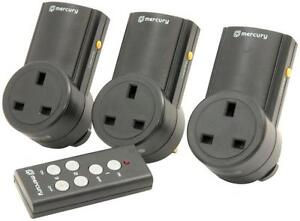 Mercury-350-113-3-x-Remote-Control-Mains-Plugs-Home-Automation-Light-Control-New