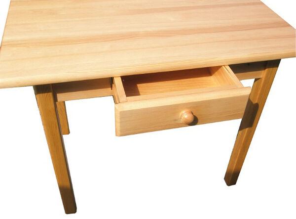Esstisch Küchentisch mit Schublade massiv NEU Hersteller