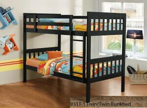 Youth Bedroom Collection featuring a Twin/Twin Bunk Bed in a Wen