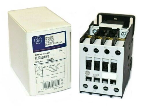 GE CL03AB00MU Contactor 460V, 480VAC Coil, without Auxiliary 104405