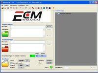 ECM TITANIUM 1.61 software and 26100 driver