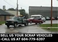 Scrap Vehicle Towing-Sell Us Your Scrap Car, Van, Suv or Truck