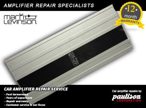 REPAIR SERVICE 2007-09  LEXUS LS460 Mark levinson amplifier 86280 0W480 0W260