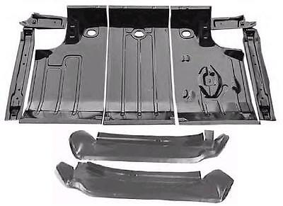 66 67 Chevelle Malibu Ss Trunk Floor Set With Drop Offs