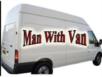 Movemania man and van Falkirk Cumbernauld Stirling Denny