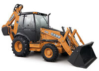 Backhoe and Operator for Hire