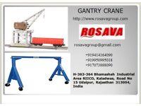 Gantry Crane Manufacture Get Price code by Rosava Engineering Group