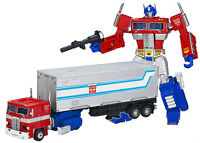 Masterpiece Optimus Prime with Trailer & Vector Sigma Gift Set