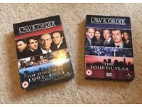 Law and Order DVDs
