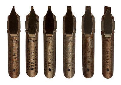 Kalligraphie Schreibfedern, Bandzugfedern, pen nibs, lettering nibs, Breitfedern
