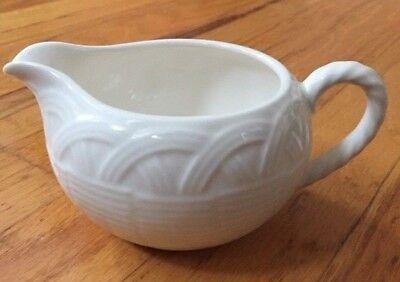 Mikasa White Dish (MIKASA Flower Basket White CREAMER Serving Designer Kitchen Replacement Dish )