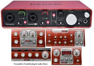 Carte de son Interface audio Focusrite Scarlett 2i2