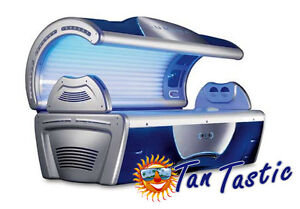 Tansun Serenity Laydown Sunbed Tanning Commercial Sun Bed Lie down tanning unit