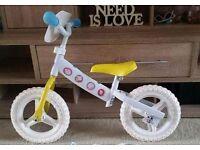 Peppa pig balance bike, new without box