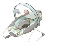 Vibrating/ musical baby swing
