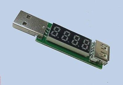 Digital Usb Voltmeterammeter Voltage Current Monitor 3.5v-20v 3a Volt Ampere