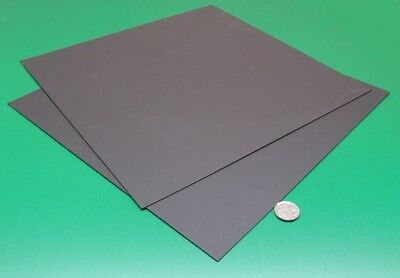 Polypropylene Sheet Black Formex Flame Retardant .017 X 12 X 12 3 Pieces