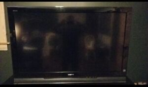 "46"" Sony Bravia flatscreen tv great condition $225."