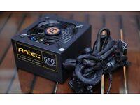 Antec True Power 550 W 80 Plus Gold Power Supply Unit - Black